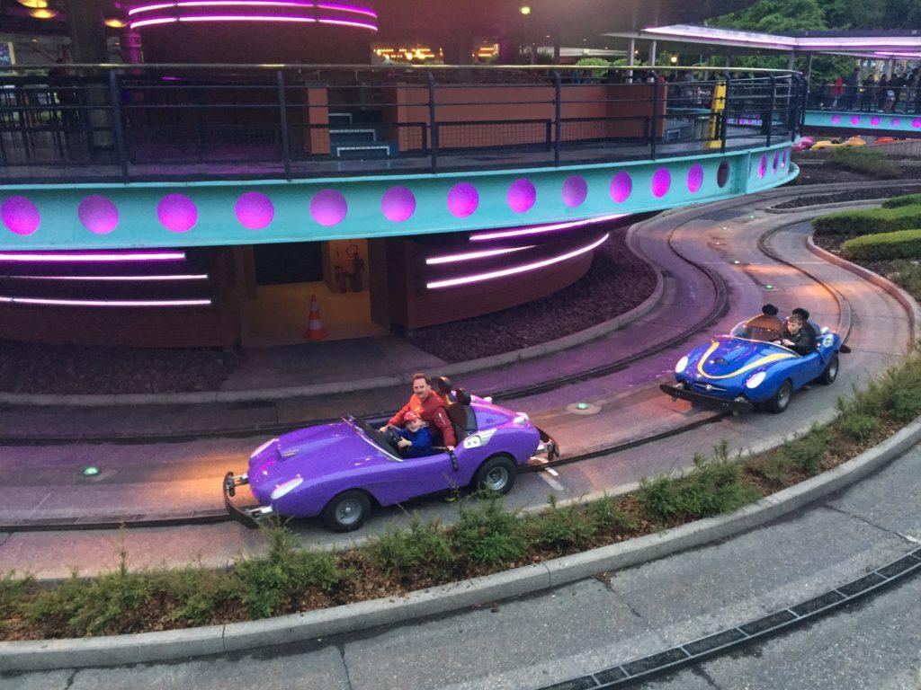 Autopia, Disneyland Paris