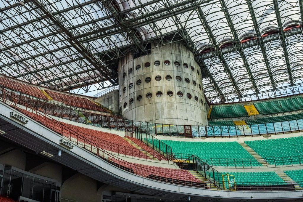 The San Siro Stadium Milan