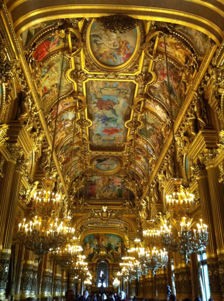 Palais Garnier opera house in Paris