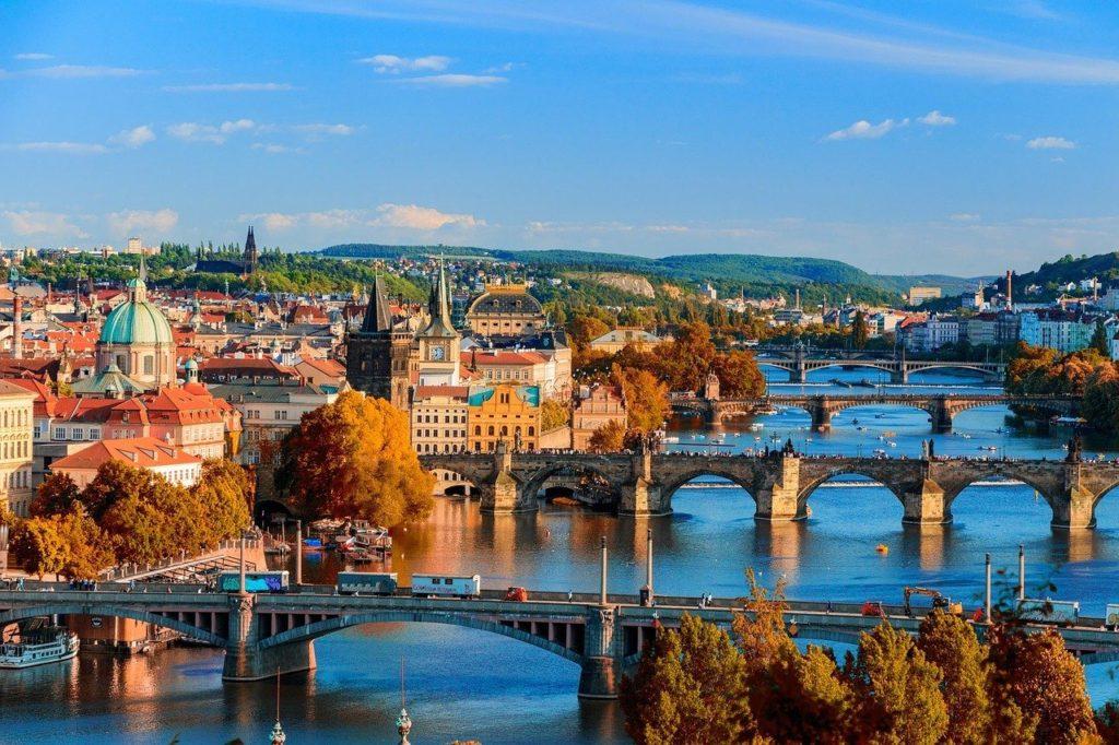 The city of Prague