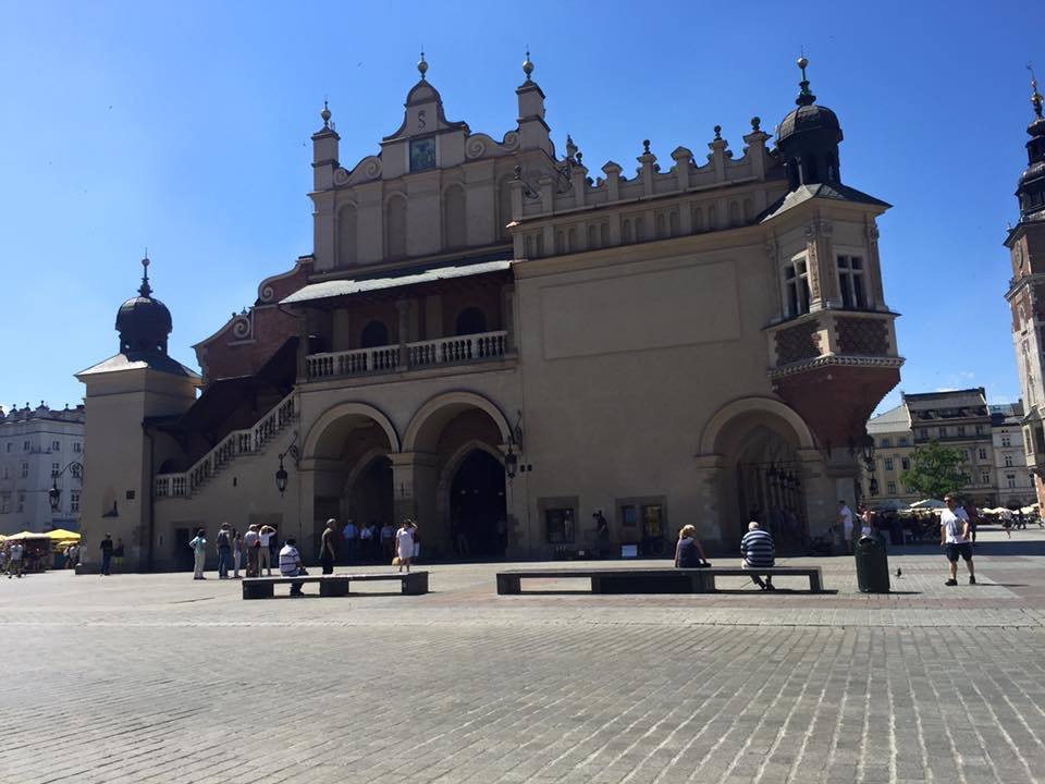 The Cloth Hall in Krakow main square
