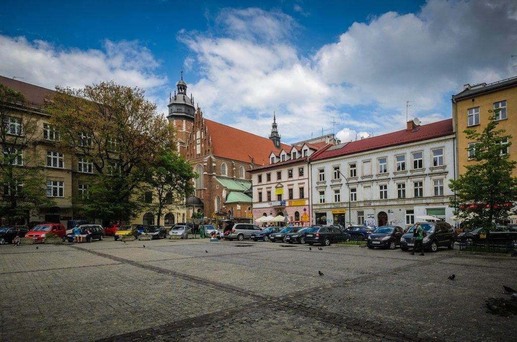 kraków, kazimierz, the market