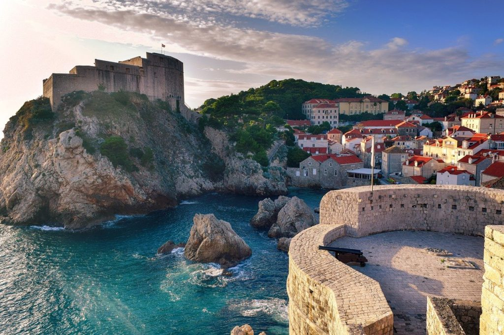 croatia, dubrovnic, sea