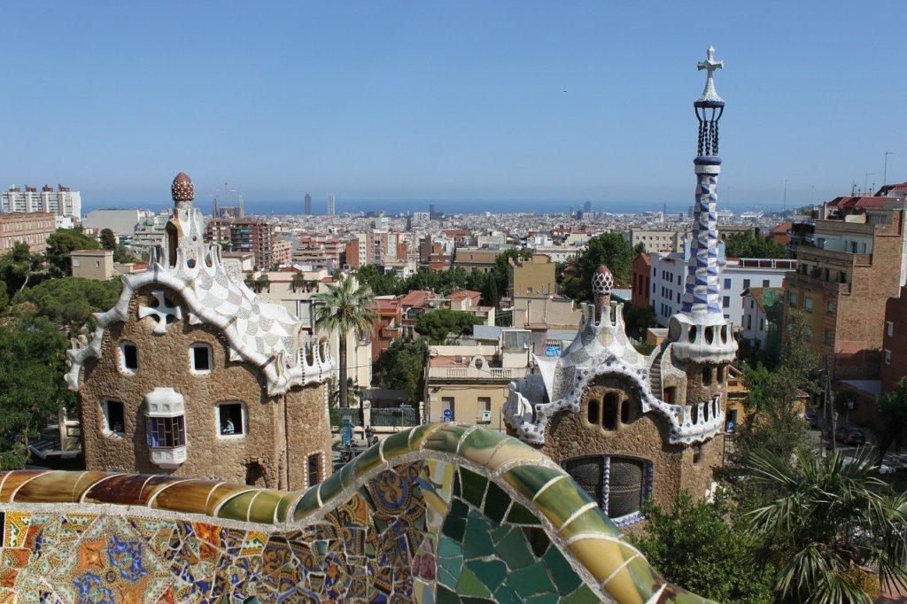 parc guell, gaudí, barcelona