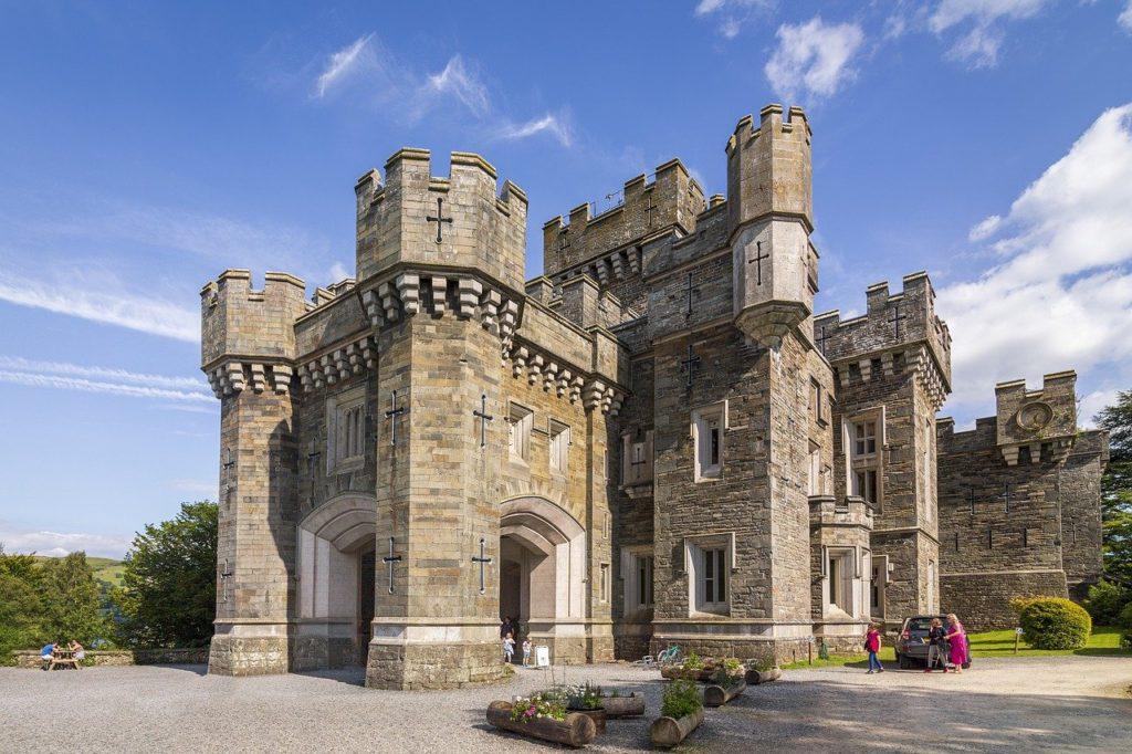 castle, lake district, cumbria