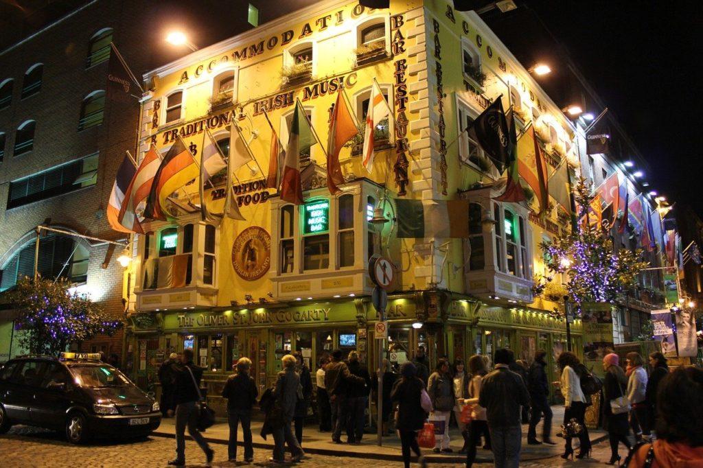 dublin, temple bar, tourism